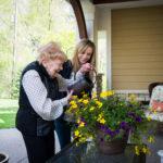 Alzheimer's Care for a Life-Long Gardener